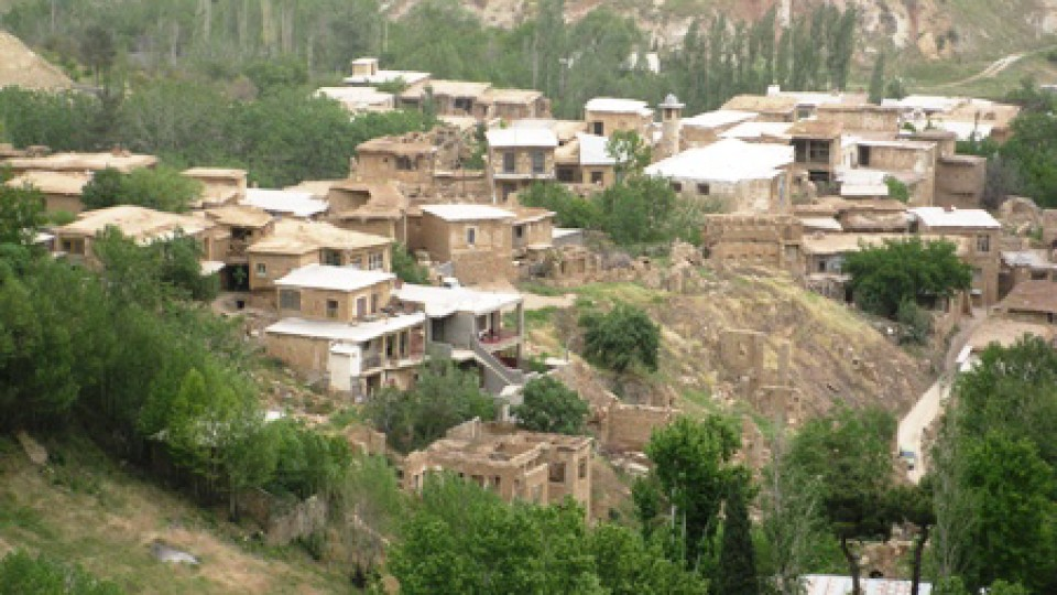 Ghalat Mountain, village