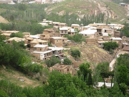 Ghalat Mountain, village